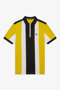 BOLD STRIPE POLO SHIRT