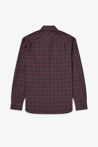 Winter Tartan Long Sleeve (mahogany)
