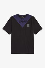 Load image into Gallery viewer, V-Insert T-Shirt by Raf Simons (black)