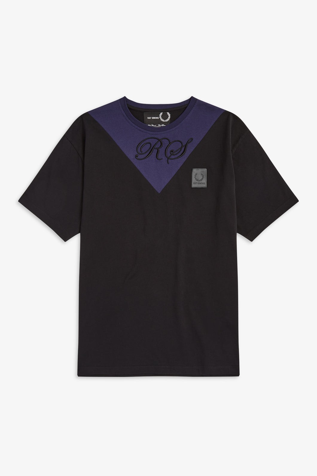 V-Insert T-Shirt by Raf Simons (black)