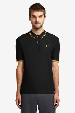 Miles Kane Twin Tipped Polo Shirt