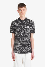 Load image into Gallery viewer, Multi Print Polo Shirt