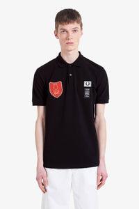 Shield Patch Polo Shirt