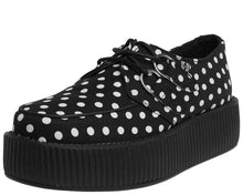 Load image into Gallery viewer, Vegan Polka-Dot Mondo Creepers