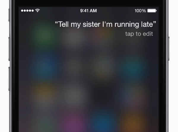 "Add relationships — spouse, brother, mom — to your Contacts card. Tell Siri, ""My sister is Alexis."""