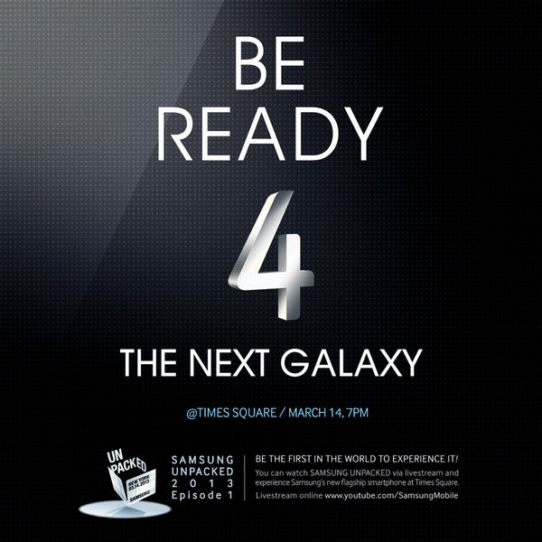 (Photo: Samsung) Samsung Galaxy S4 To Be Released In 6 Variants: Will It Have Dotted Back?
