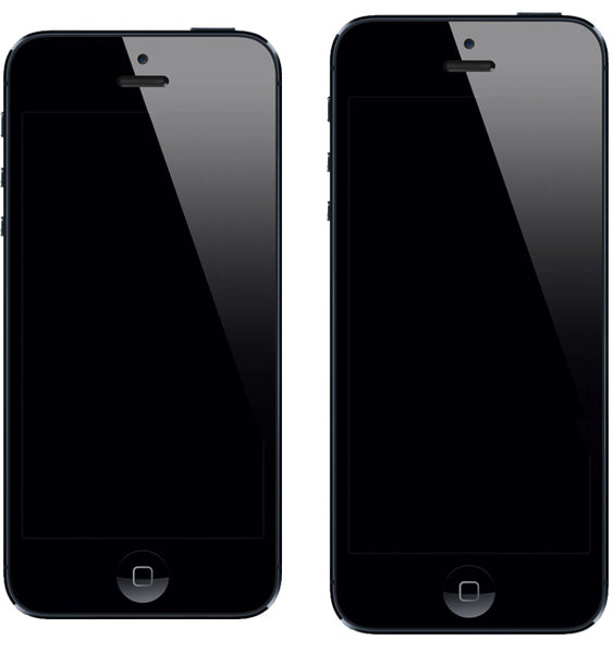 iPhone 5s 4.3 inches