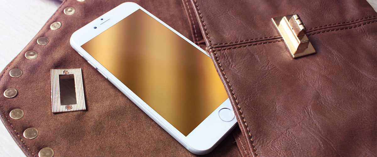 Champagne GlassShield - luxury screen protection in translucent colors