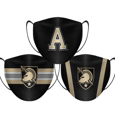 Army Black Knights - Face Mask - 3 Pack
