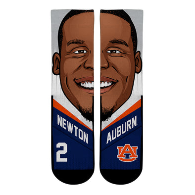 Cam Newton - Auburn Tigers - College Game Face