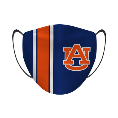 Auburn Tigers - Face Mask - Navy Power Stripe