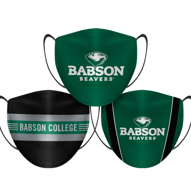 Babson Beavers - Face Mask - 3 Pack