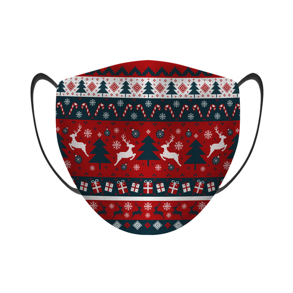 Tacky Sweater (Navy) - Face Mask