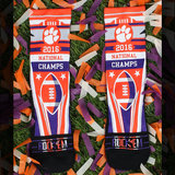 Clemson Tigers - National Championship Stripes