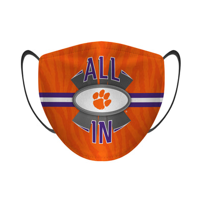 Clemson Tigers - Face Mask - ALL IN