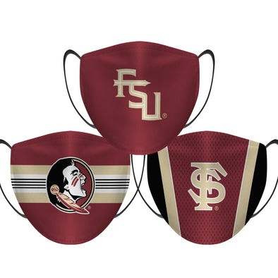 Florida State Seminoles - Face Mask - 3 Pack