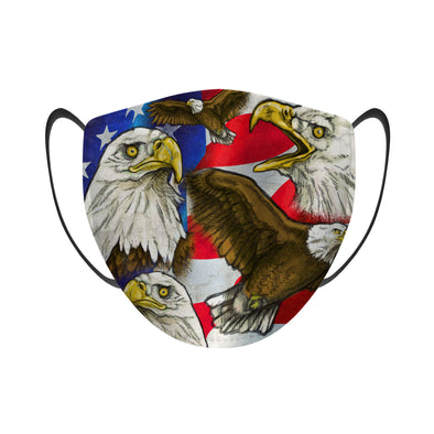 American Screaming Eagle - Face Mask