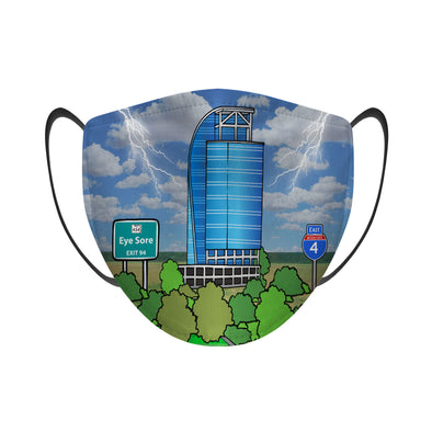 Eyesore On I4 - Face Mask