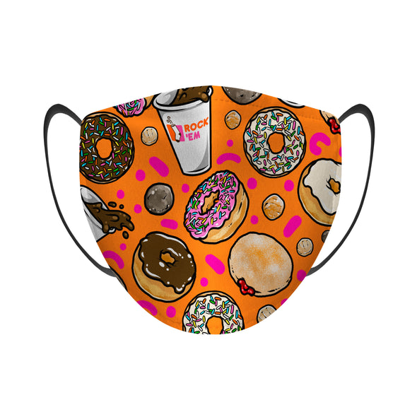 Coffee & Donuts - Face Mask