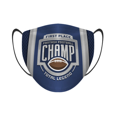 Fantasy Football Champion - Face Mask