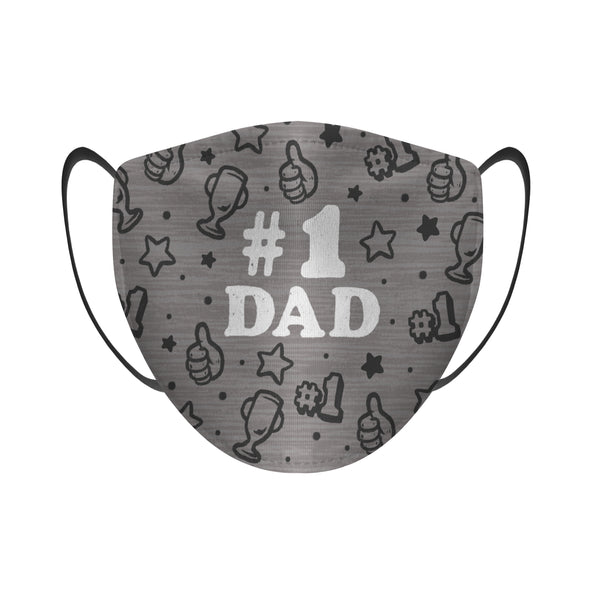 #1 Dad - Face Mask
