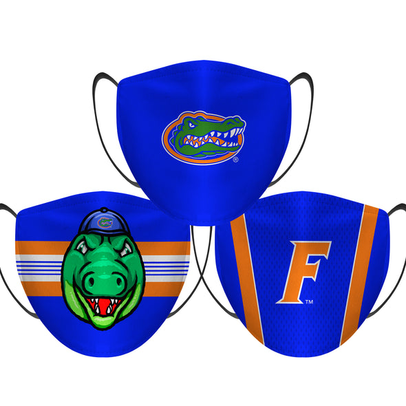Florida Gators - Face Mask - 3 Pack