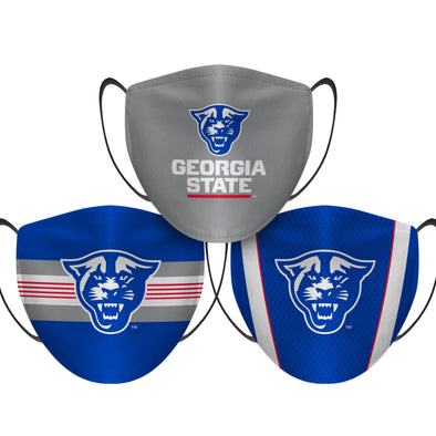 Georgia State Panthers - Face Mask - 3 Pack