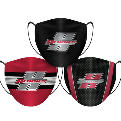 Henderson State Reddies - Face Mask - 3 Pack