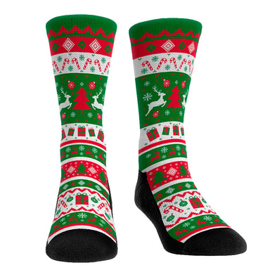 Tacky Sweater Socks (Forest)