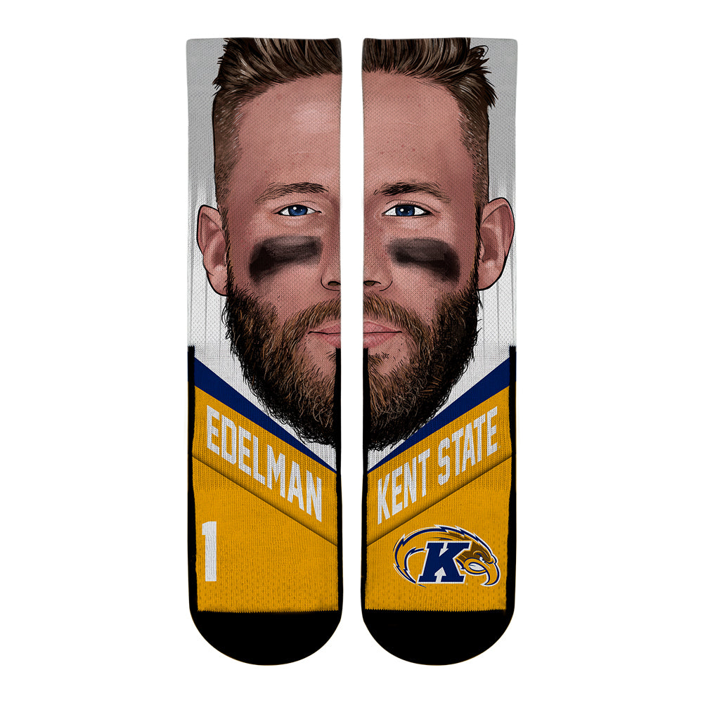 Julian Edelman - Kent State Golden Flashes - Game Face