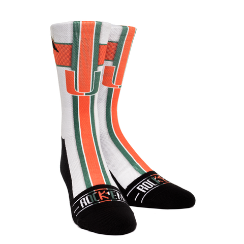 Miami Hurricanes - Jersey Series White