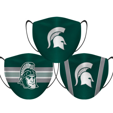 Michigan State Spartans - Face Mask - 3 Pack
