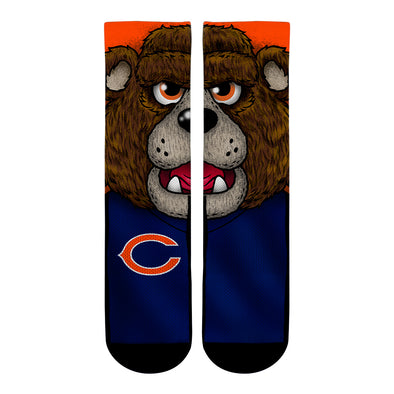 Chicago Bears - Split Face Mascot