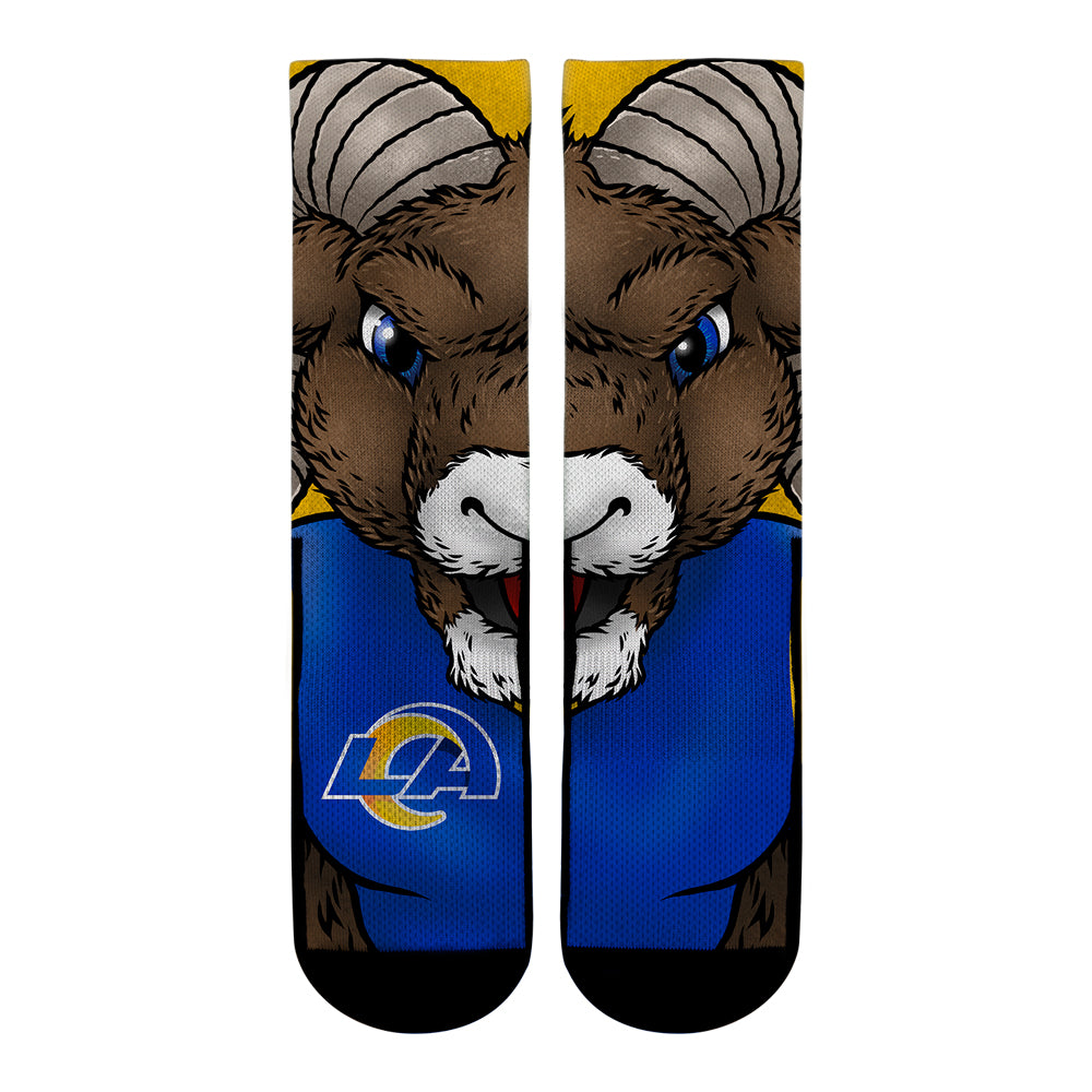 Los Angeles Rams - Split Face Mascot