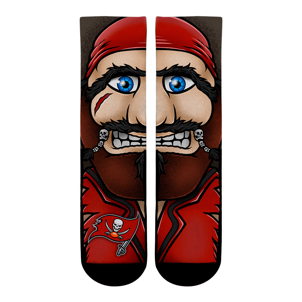 Tampa Bay Buccaneers - Split Face Mascot