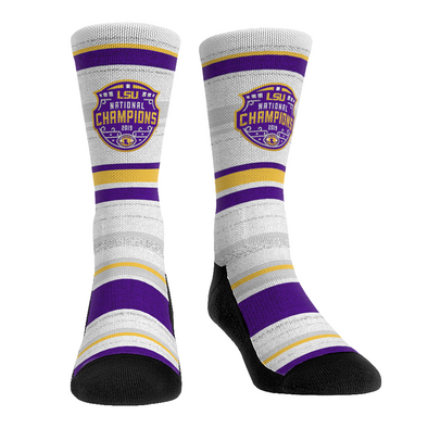 LSU Tigers - 2019 National Champions - Charged Stripes