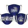 New Hampshire Wildcats - Face Mask - 3 Pack