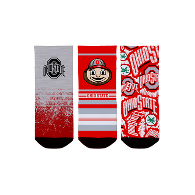 Ohio State Buckeyes - Toddler 3-Pack (1-2 YR)