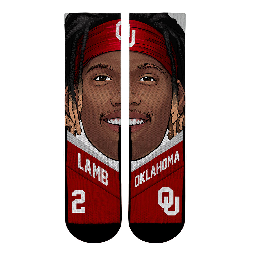 CeeDee Lamb - Oklahoma Sooners - College Game Face