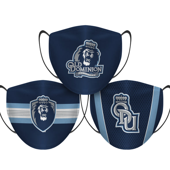 Old Dominion Monarchs - Face Mask - 3 Pack