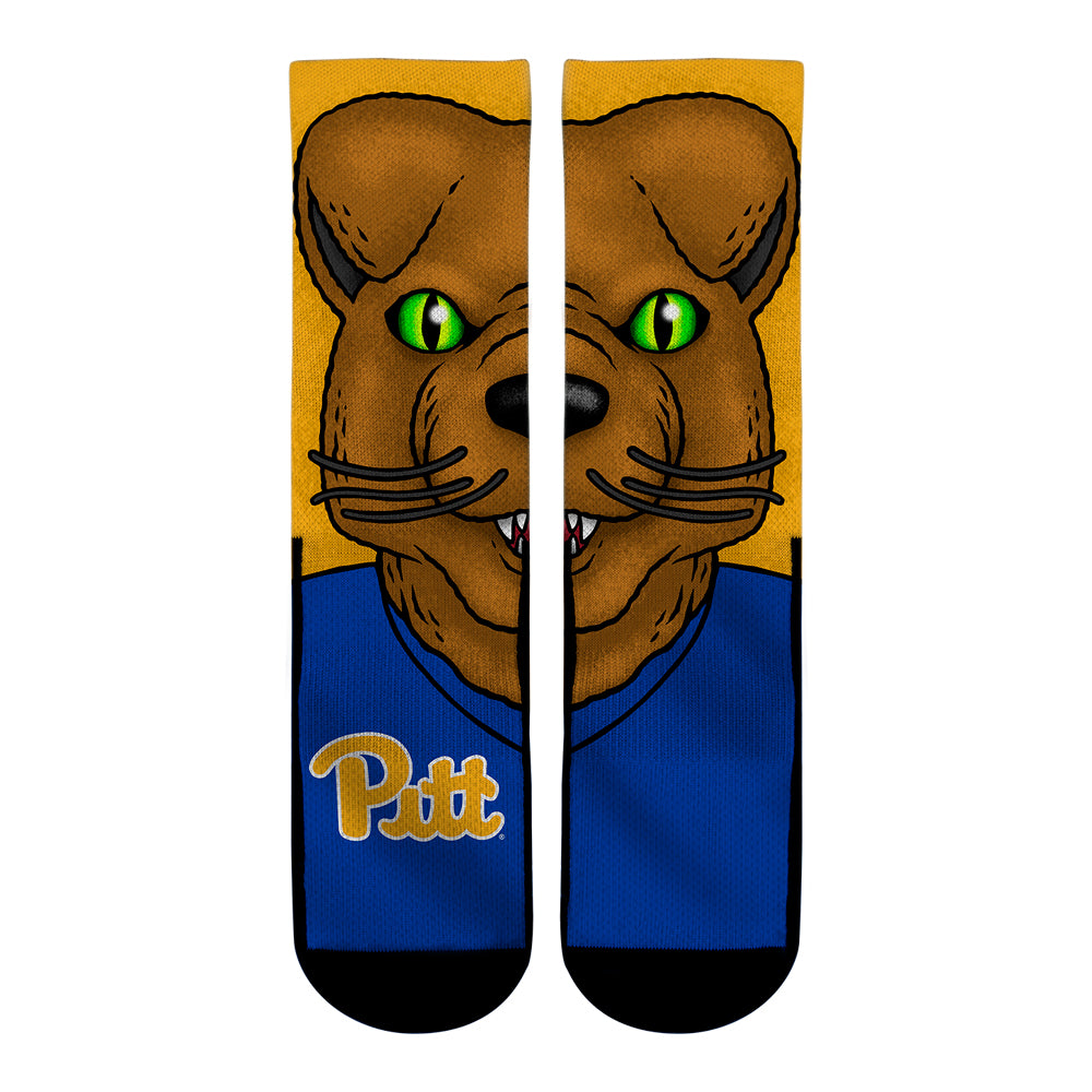 Pittsburgh Panthers - Roc the Panther Mascot
