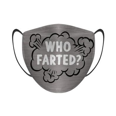 Who Farted? (Heather) - Face Mask