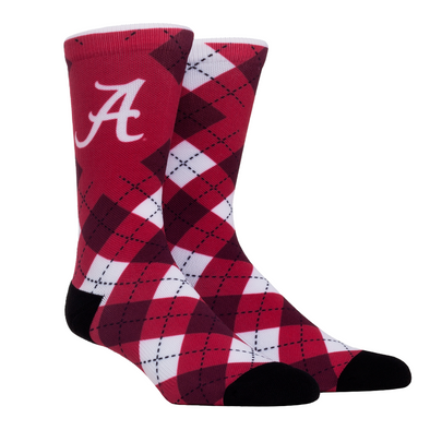 Alabama Crimson Tide - Crimson Argyle