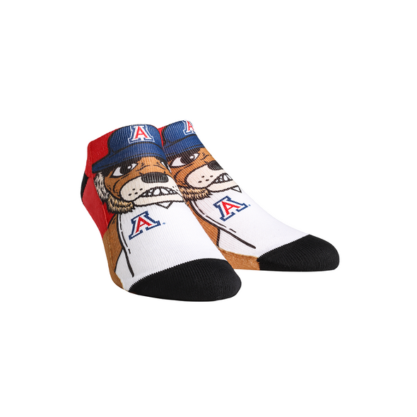 Arizona Wildcats - Wilbur Mascot Low Cut