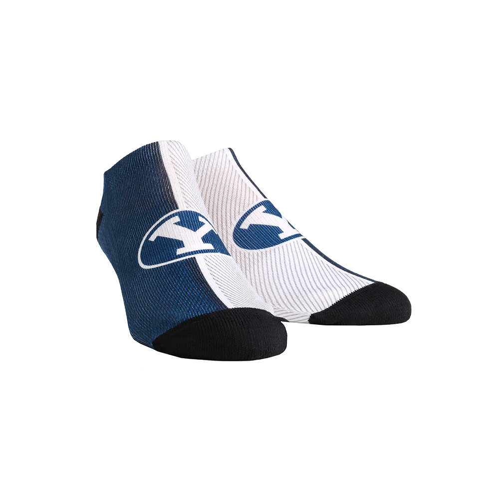 BYU Cougars - Campus Stripes Low Cut