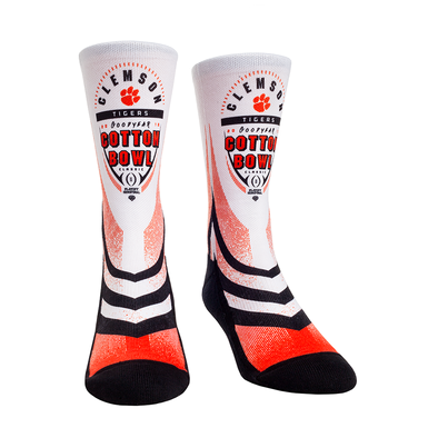 Clemson Tigers - Cotton Bowl Socks 2018