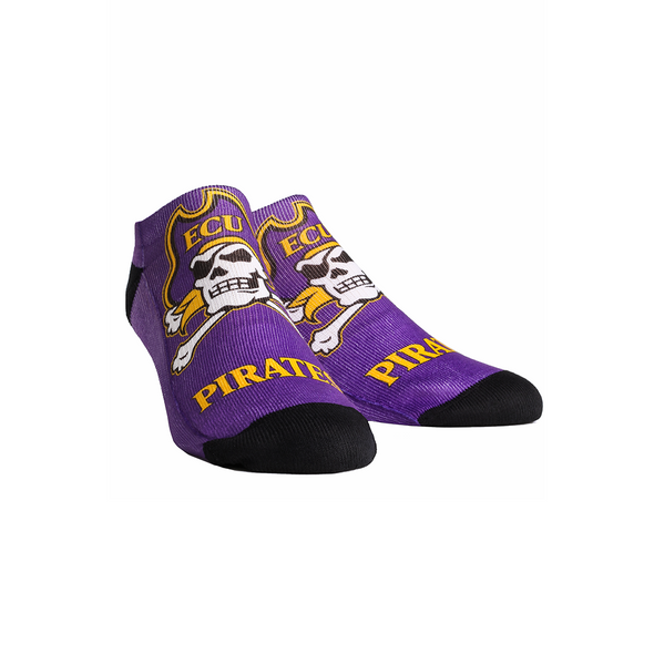 ECU Pirates - Logo Mascot Low Cut