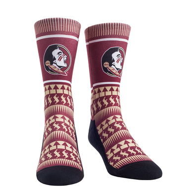 Florida State Seminoles - Tribal Pattern Garnet