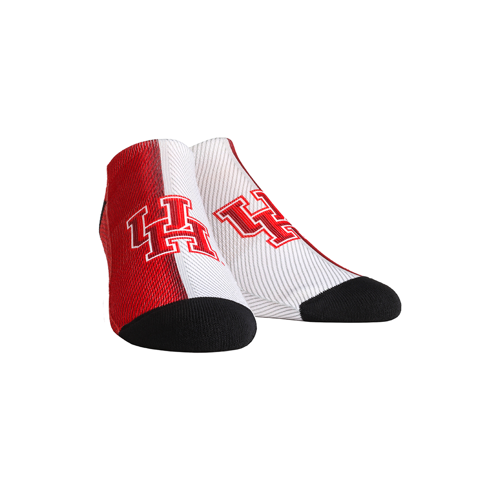 Houston Cougars - Campus Stripes Low Cut