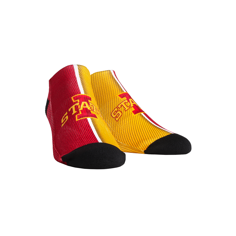 Iowa State Cyclones - Campus Stripes Low Cut